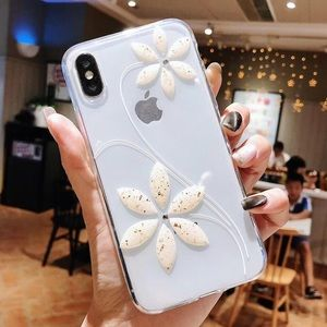 NEW iPhone X/XS/7+/8+ 3D Flower Case